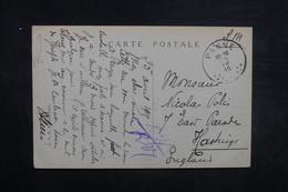 BELGIQUE - Oblitération De La Panne Sur Carte Postale En 1915 En FM Pour Le Royaume Uni - L 37552 - Autres