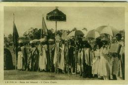 AFRICA - ERITREA - MESCAL -  THE CLERGY COPTIC  -  EDIT BOERI 1920s (BG3899) - Erythrée