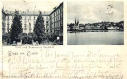 Suisse - Lucerne - Grüss Aus Luzern - Café Und Restaurant Stadthof - C 8501 - LU Lucerne