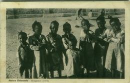 AFRICA - ERITREA - KIDS - SCUGNIZZI ERITREI - 1920s (BG3900) - Eritrea