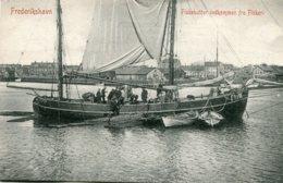 DENMARK -  Frederikshavn - Fishekutter Indkommen Fra Fisheri - Good Ship Etc - Dinamarca