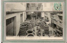 CPA - CLERMONT-FERRAND (63) - Usine MICHELIN - Aspect Du Hall Des Pneus Et Expéditions De Petite Vitesse En 1905 - Clermont Ferrand