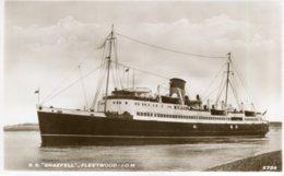 UNITED KINGDON -   Steam Ship SNAEFELL - Dampfer