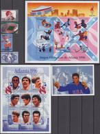 Nicaragua28.03.1996 Mi # 3764-67, 3768-85 Kleinbogensatz Bl 262 Atlanta Summer Olympics (II-III) MNH OG - Verano 1996: Atlanta
