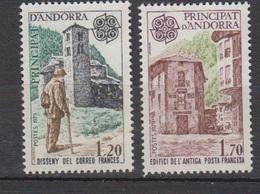 ANDORRE-1979.N°276/277** EUROPA - Ongebruikt