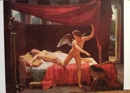 Cpm De 1952, Peintre François Edouard Picot (Néo Classique), Tableau L'Amour Et Psyché, Musée Du Louvre - Peintures & Tableaux
