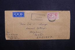 INDE - Enveloppe De Meiktila Pour Le Royaume Uni En 1936 Par Avion, Affranchissement Plaisant - L 37570 - India (...-1947)