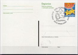 Slovenia Cancelled Postal Stationery - Handicaps