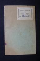 FRANCE- Livret De Correspondance De L 'école Municipale Professionnelle De Dorian En 1945/47  - L 37574 - Vieux Papiers