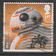 GB 2017 Star Wars Droids And Aliens Stamp SG 4011 O Used - 1952-.... (Elizabeth II)