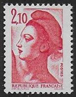 Liberté N° 2319 **  ( 2 Bandes De Phosphore à Droite) - 1982-90 Vrijheid Van Gandon