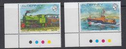 Alderney 1993 Definitives 2v (corners) ** Mnh (44046) - Alderney