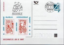 Czech Republic Cancelled Postal Stationery - Postal Stationery