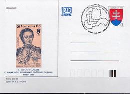 Slovakia Cancelled Postal Stationery - Postal Stationery