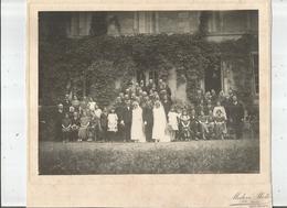 SAINT MAIXENT (DEUX SEVRES) OU ENVIRONS PHOTO ANCIENNE  DOUBLE MARIAGE (PHOTO MODERN PHOTO P E SANS ST MAIXENT) - Lugares