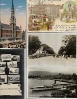 Destokage De 1000 Cpa De Villes Et Villages Scène De Vie De France Et D'europe - 500 Postkaarten Min.