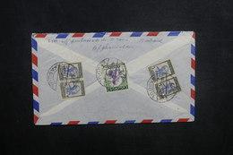 AFGHANISTAN - Enveloppe De Kaboul Pour Paris En 1956, Affranchissement Plaisant Au Verso - L 37584 - Afghanistan