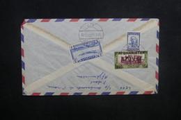 AFGHANISTAN - Enveloppe De Kaboul Pour Paris En 1959, Affranchissement Plaisant Au Verso - L 37585 - Afghanistan