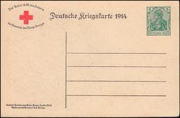 Postkarte P 100AI Deutsche Kriegskarte 1914 Kaiser Wilhelm II, Ungebraucht - Alemania
