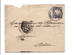 ALLEMAGNE BAVIERE LETTRE DE LINDAU POUR LA FRANCE 1903 - Bavaria