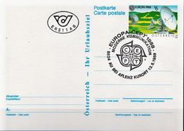 Austria Cancelled Postal Stationery - Europa-CEPT