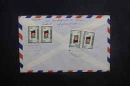 AFGHANISTAN - Enveloppe De Kaboul Pour Paris En 1957, Affranchissement Plaisant Au Verso - L 37586 - Afghanistan