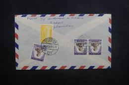AFGHANISTAN - Enveloppe De Kaboul Pour Paris En 1958, Affranchissement Plaisant Au Verso - L 37587 - Afghanistan