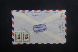 AFGHANISTAN - Enveloppe De Kaboul Pour Paris En 1957, Affranchissement Plaisant Au Verso - L 37588 - Afghanistan