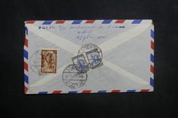 AFGHANISTAN - Enveloppe De Kaboul Pour Paris En 1957, Affranchissement Plaisant Au Verso - L 37590 - Afghanistan