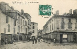 CPA 33 Gironde BLAYE Rue De La Citadelle - Blaye