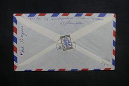 AFGHANISTAN - Enveloppe De Kaboul Pour Paris En 1957, Affranchissement Plaisant Au Verso - L 37593 - Afghanistan