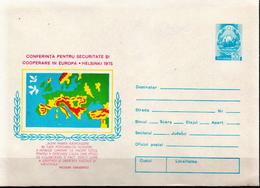 Romania Mint Postal Stationery Cover - European Ideas