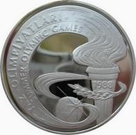 Turquie, 10.000 Lira 1988 - Silver Proof - Turquie