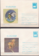 Romania 10 Mint Postal Stationery Covers With Protected Fauna - Stamps