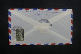 AFGHANISTAN - Enveloppe De Kaboul Pour Paris En 1957, Affranchissement Plaisant Au Verso - L 37594 - Afghanistan