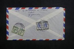 AFGHANISTAN - Enveloppe De Kaboul Pour Paris En 1957, Affranchissement Plaisant Au Verso - L 37595 - Afghanistan