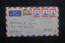 AFGHANISTAN - Enveloppe De Hérat Pour Paris En 1959, Affranchissement Plaisant Recto Et Verso - L 37596 - Afghanistan