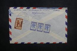 AFGHANISTAN - Enveloppe De Kaboul Pour La France En 1957, Affranchissement Plaisant Au Verso - L 37597 - Afghanistan