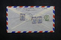 AFGHANISTAN - Enveloppe De Kaboul Pour La France En 1956, Affranchissement Plaisant Au Verso - L 37600 - Afghanistan