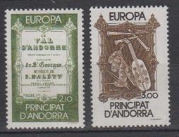 ANDORRE-1984.N°339/340** EUROPA - Ongebruikt
