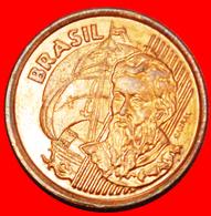 + SHIP: BRAZIL ★ 1 CENTAVO 2002 Cabral (c.1467 - 1520)! LOW START ★ NO RESERVE! - Brésil