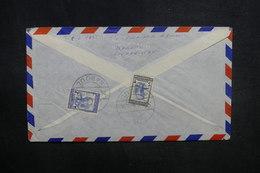 AFGHANISTAN - Enveloppe De Kaboul Pour La France En 1956, Affranchissement Plaisant Au Verso - L 37601 - Afghanistan