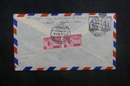 AFGHANISTAN - Enveloppe De Deh - Afgranan Pour La France En 1956, Affranchissement Plaisant Au Verso - L 37602 - Afghanistan