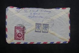 AFGHANISTAN - Enveloppe De Kaboul Pour La France En 1958, Affranchissement Plaisant Au Verso - L 37603 - Afghanistan