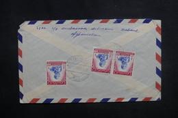 AFGHANISTAN - Enveloppe De Kaboul Pour La France En 1958, Affranchissement Plaisant Au Verso - L 37604 - Afghanistan