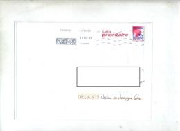 Pap Carte Rouge 50 G Flamme Chiffree Datamatrix - Prêts-à-poster:  Autres (1995-...)