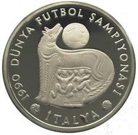 Turquie, 20.000 Lira 1990 - Silver Proof - Turquie