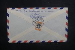 AFGHANISTAN - Enveloppe De Kaboul Pour La France En 1958, Affranchissement Plaisant Au Verso - L 37610 - Afghanistan