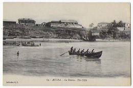 Cpa Bon Etat , Ghana , ACCRA, La Falaise , Carte  Tres Propre - Ghana - Gold Coast