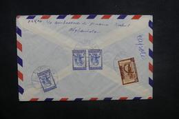 AFGHANISTAN - Enveloppe De Kaboul Pour La France En 1957, Affranchissement Plaisant Au Verso - L 37614 - Afghanistan